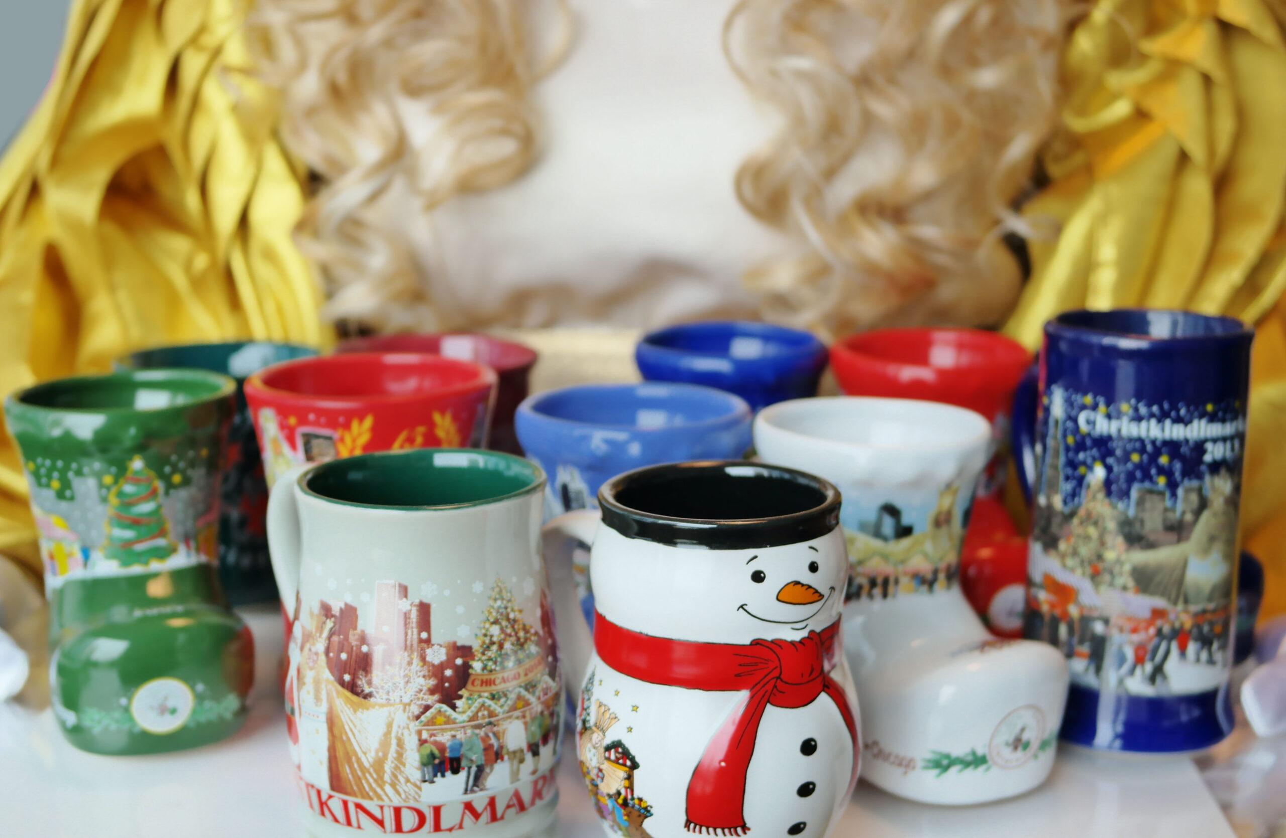Christkind carries Christkindlmarket mug collection