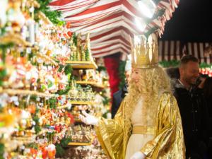 Christkind at the Christmas Market