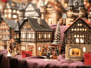 Traditional gifts at the German Market