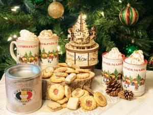 Christmas treats and drinks