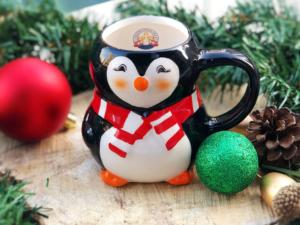 A Penguin Mug at the Christkindlmarket