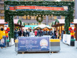 Safe Chicago Outdoor Event during the holiday season