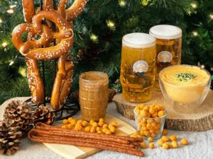 Food and Beer at the Chicago Christkindlmarket