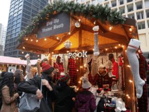 Pop-up vendor booth