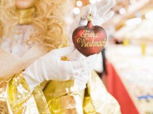 Christmas Decoration at the Christkindlmarket